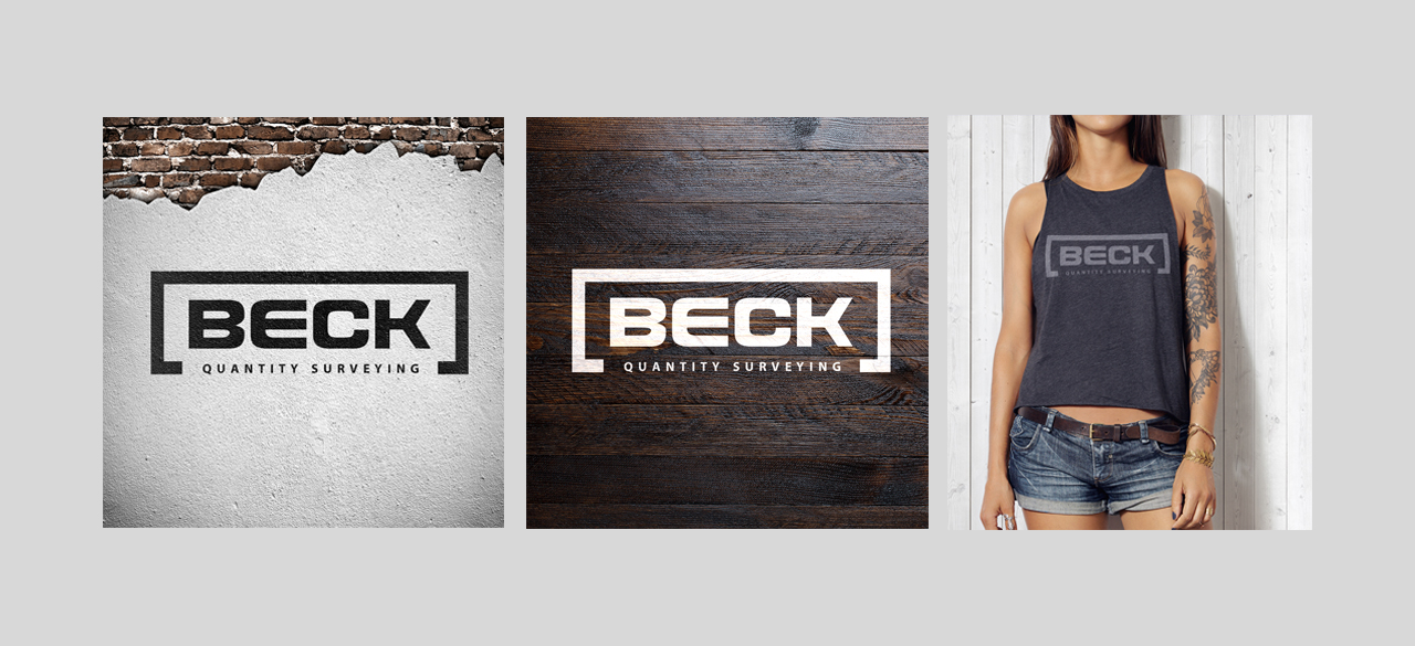 BECK Quantity Surveying responsive website - branding identity & stationary design